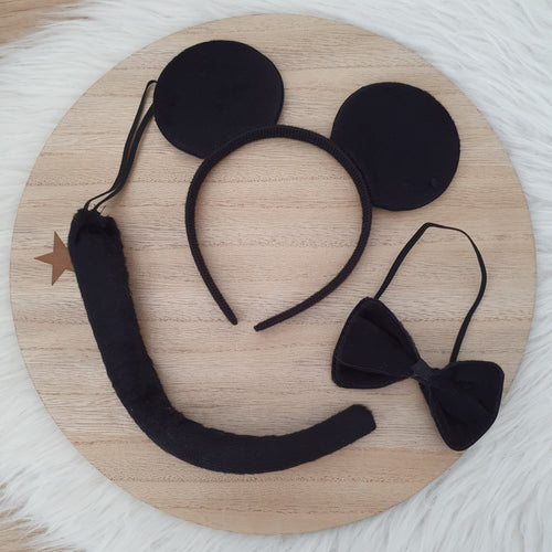 Mouse Headband Set