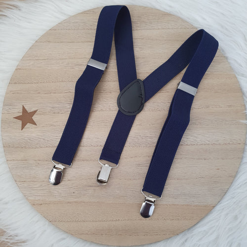 NAVY Baby / Kids Adjustable Suspenders
