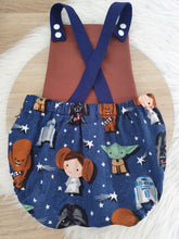 BABY STAR WARS print - Size 1 Baby Romper, 1st Birthday / Cake Smash Outfit