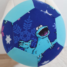 Balloon Ball Cover - COOKIE MONSTER print