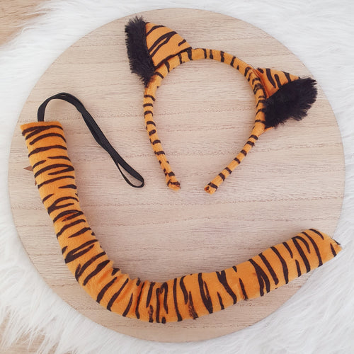 Tiger Headband & Tail Set