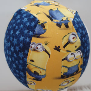 Balloon Ball Cover - MINIONS print