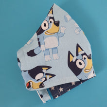 CHILD (Approx 4-10yrs) FACE MASK - Reusable,  Washable,  3 Layers 100% Cotton (Includes Filter Pocket)