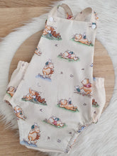 POOH BEAR print - Size 2 Romper Baby / Toddler / Child Outfit