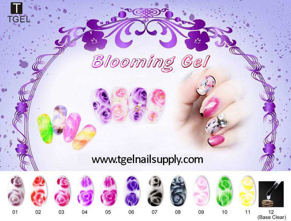Blooming Marble Gel 15ml bottles