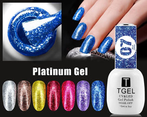 Gel Platinum supper shiny gel platinum
