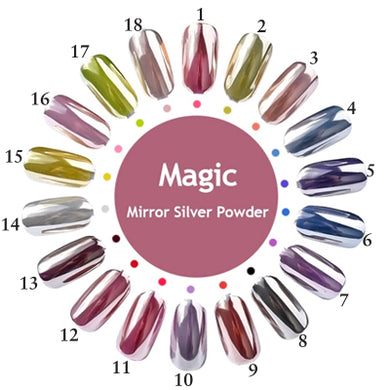 Magic Chrome Mirror Silver Powder (1 GRAM)