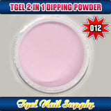 TGEL 3in1 Gel Polish + Nail Lacquer + Dipping Powder #012