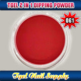 TGEL 3in1 Gel Polish + Nail Lacquer + Dipping Powder #061