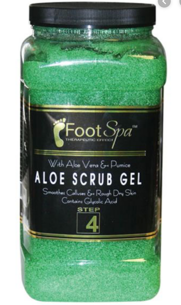 Aloe Scrub Gel