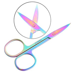 1 pc stainless steel Eyebrow trimmer scissors
