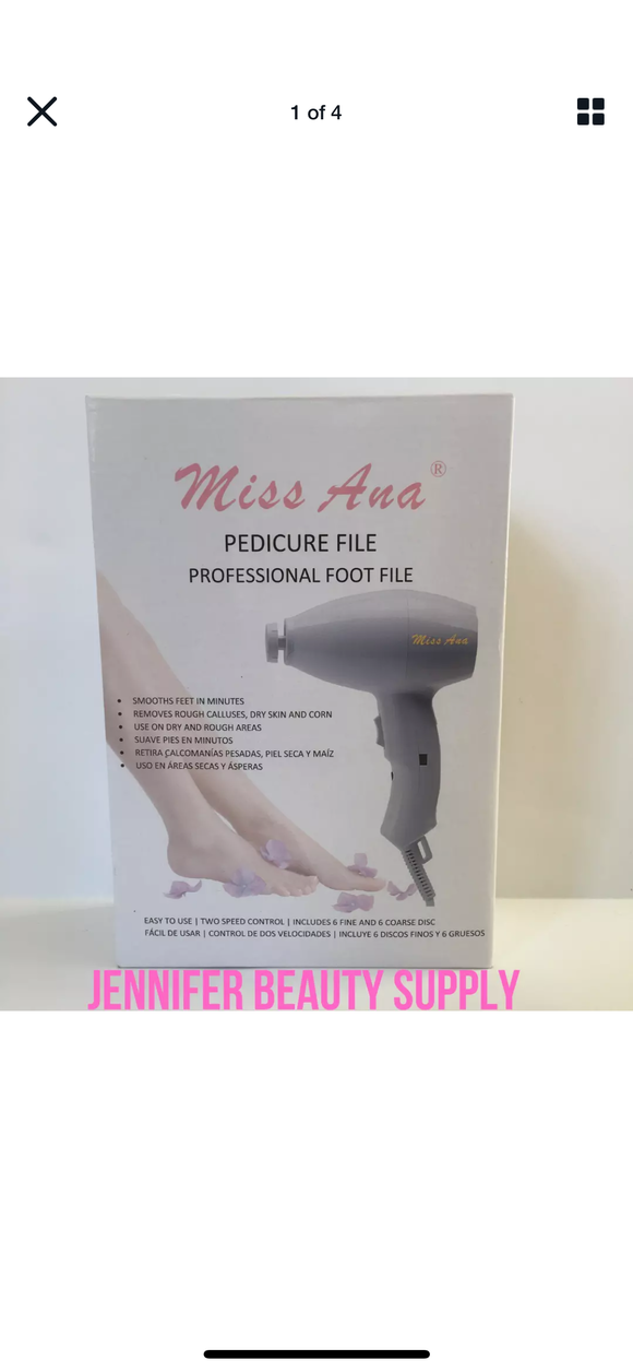 Calus pedicure foot file strong machine