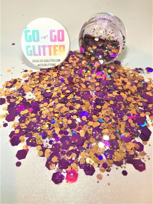 ✦ TURKISH DELIGHT ✦ FACE, BODY & HAIR GLITTER - Go-Go Glitter NZ Festival Glitter New Zealand GOGOGLITTER Go Go Glitter