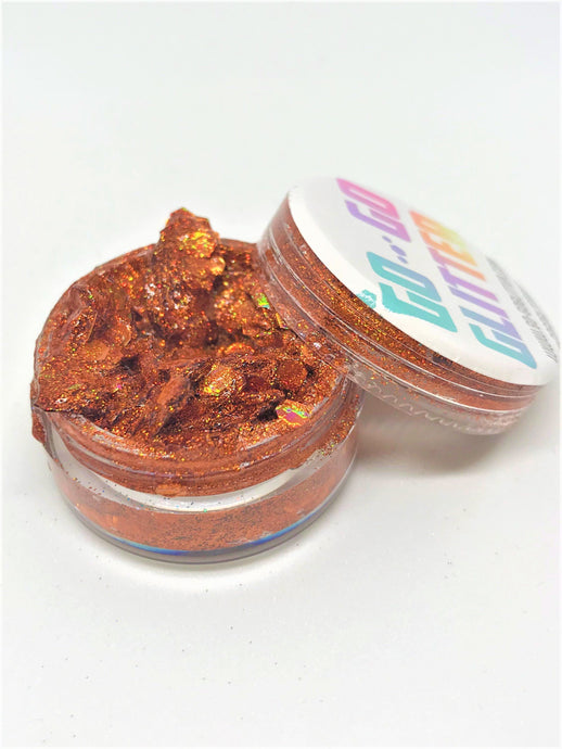 ✦ COPPER DELIGHT ✦ GLITTER PASTE - Go-Go Glitter NZ Festival Glitter New Zealand GOGOGLITTER Go Go Glitter