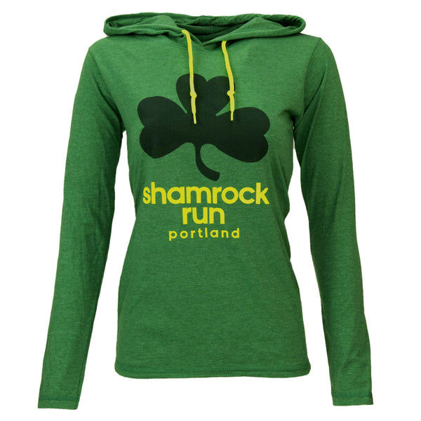 Women's Lucky Clover Hooded Tee