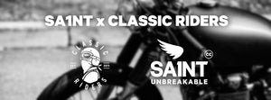 New partnership CLASSIC RIDERS x SA1NT !
