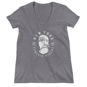 New York Classic Riders - Bandana Man - Women's V-neck