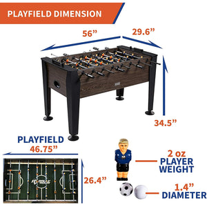 Rally and Roar Foosball Table Game – 56""