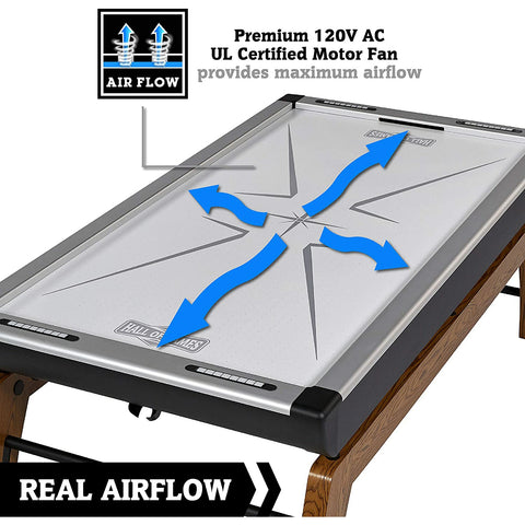 "Hall of Games Edgewood 84"" Air Powered Hockey Table"
