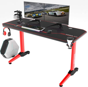 Vitesse Gaming Desk Racing Style Computer Desk