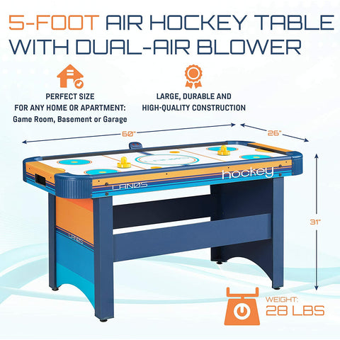 Lanos Air Hockey Table