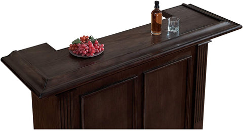 Image of Sylvester Bar in Brown Oak Sylvester Brown