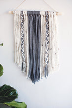 Load image into Gallery viewer, Yarn Wall Hanging Boho Decor - Decorative Interior Tapestry Bedroom Wall Decor Nursery Room Bohemian Art Decor
