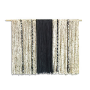 X-Large 59 x 42 inch Yarn Wall Hanging Boho Decor
