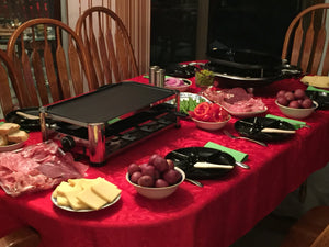 Raclette Grill Party at Antje's