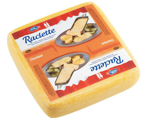 Raclette Cheese, square