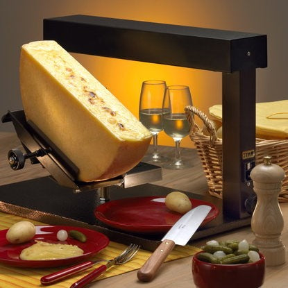 Raclette Melter Ambiance for half wheel of cheese