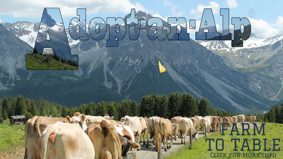 Adopt-an-alp - know where your raclette cheese comes from