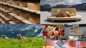 Raclette Cheeses from Switzerland and France