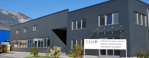TTM Prodcution Building in Sierre, Switzerland