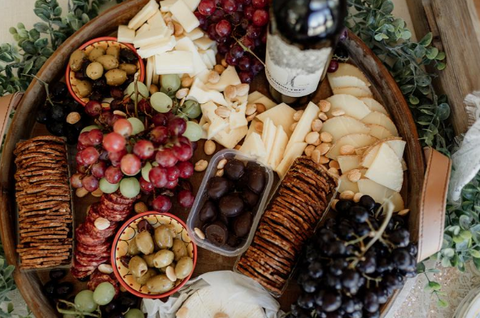 RacletteCorner Wedding Cheese board