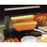 TTM Brio Gas Raclette Melter for 2 1/2 wheels of cheese