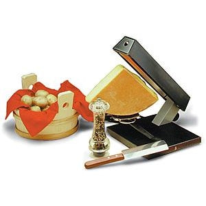 "TTM Raclette Melter ""Party"" for 1/4 wheel of cheese"