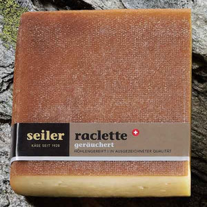 Smoked raclette cheese from Seiler