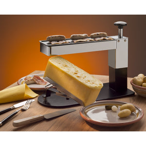 TTM Raclette Cheese Melter Racl' Plus with grill top