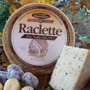 Baechler Truffle raclette cheese full wheel