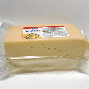 Block of Emmi raclette cheese