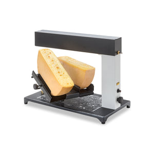 TTM Brio PLUS Raclette Melter for 2 1/2 wheels of cheese, Gas