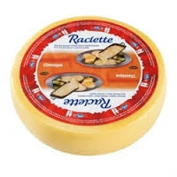 Emmi Raclette Cheese, round, 12 lbs.