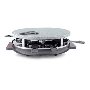 Matterhorn Raclette grill for 8 with granite stone top
