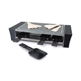 Swissmar - 8 Person Raclette Grill Ticino with granite stone top, no food