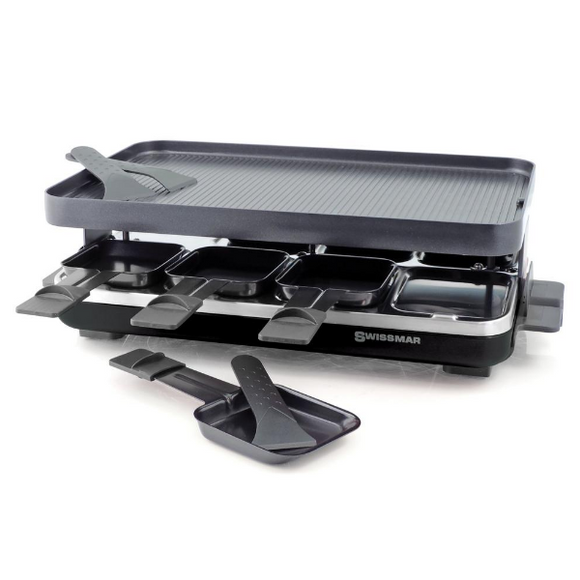 Swissmar raclette grill Valais with black base KF-77094