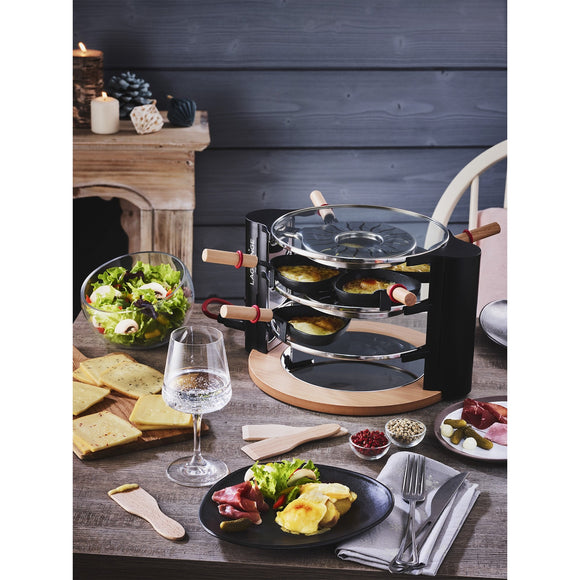 LaGrange Raclette Cheese Tower in use
