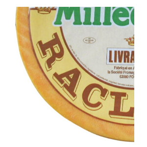 Milledome French raclette cheese from Livradois