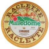 Milledome raclette cheese from France, Livradois