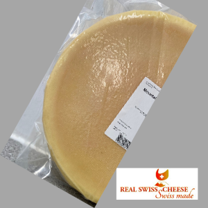 Mountain Milk Raclette Cheese, half wheel, 6 lbs